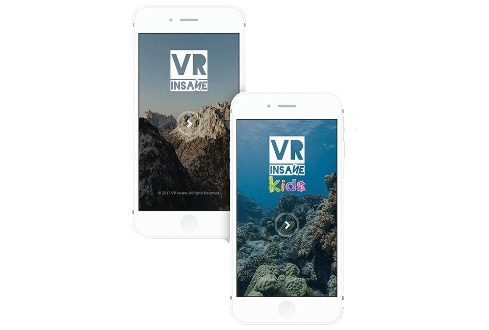 Apps VR Insane y VR Insane Kids