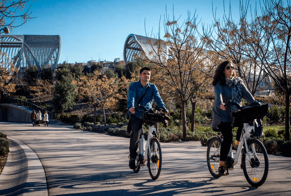 Bicicletas en la ciudad - Madridiario.es