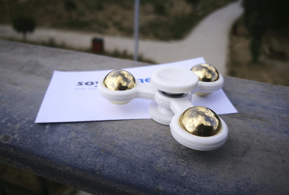 Fotos del fidget spinner de plástico