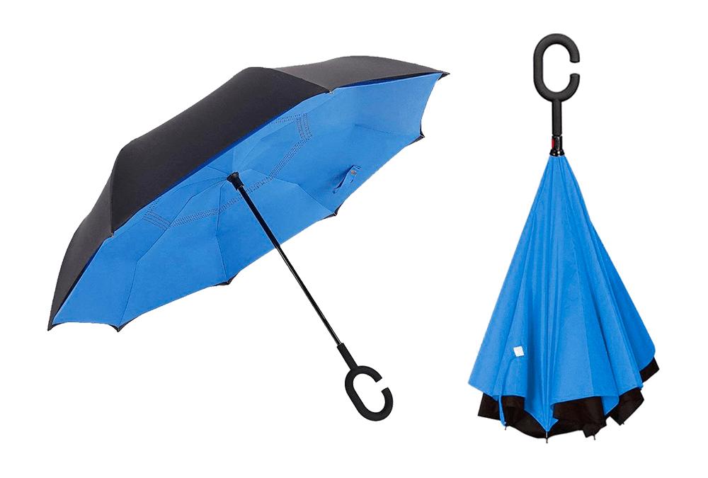 Suprella, paraguas de cierre inverso