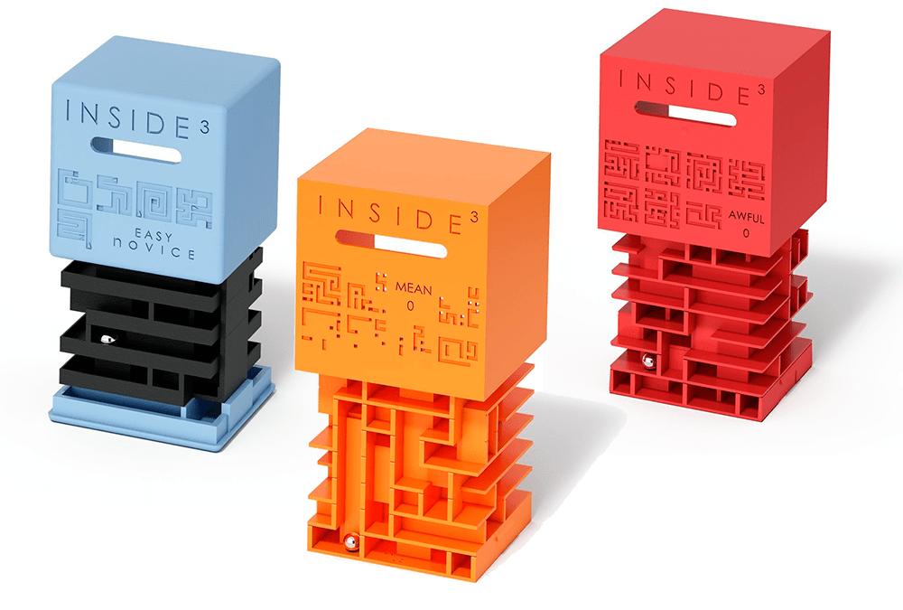 Elige tu nivel de dificultad con los cubos Inside 3