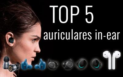 Descubre el top 5 de auriculares in ear