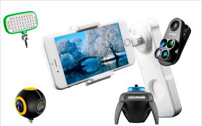 5 gadgets para mejorar tus fotografías con el móvil