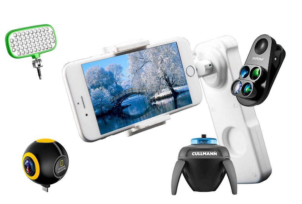 Gadgets que mejoran tus fotos con smartphone