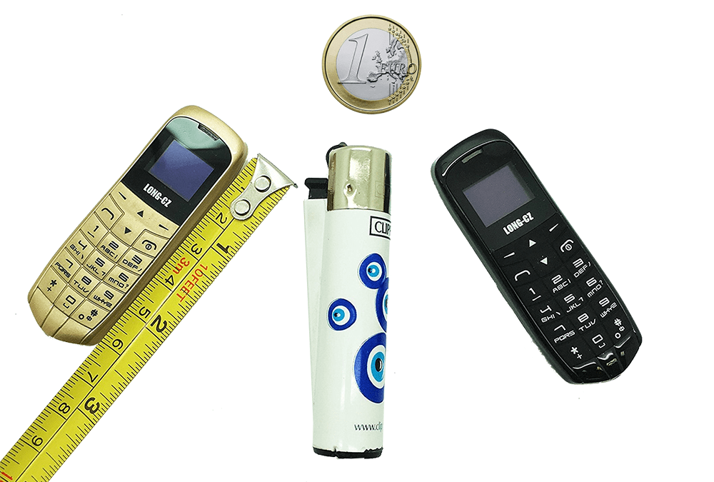 Tamaño real micro-moviles