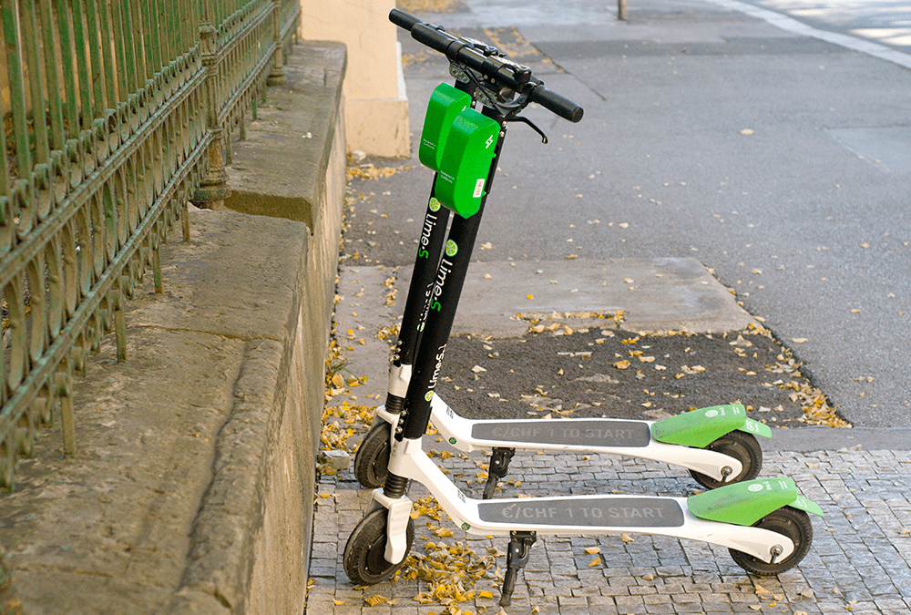 Patinetes de movilidad unipersonal urbana