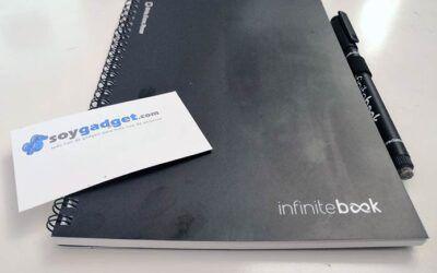 InfiniteBook: escribe, borra y reutiliza